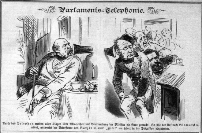 Parlaments-Telephonie Berliner Wespen Nr. 45_1877